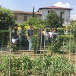 Area food in visita a Caseificio Ombria e Trattoria Visconti