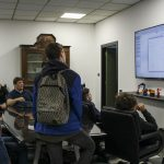 Area tecnologica in visita a Italiana Robot