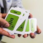 Nuovi mazzi per il gioco Taboo: il lavoro della 1° grafica