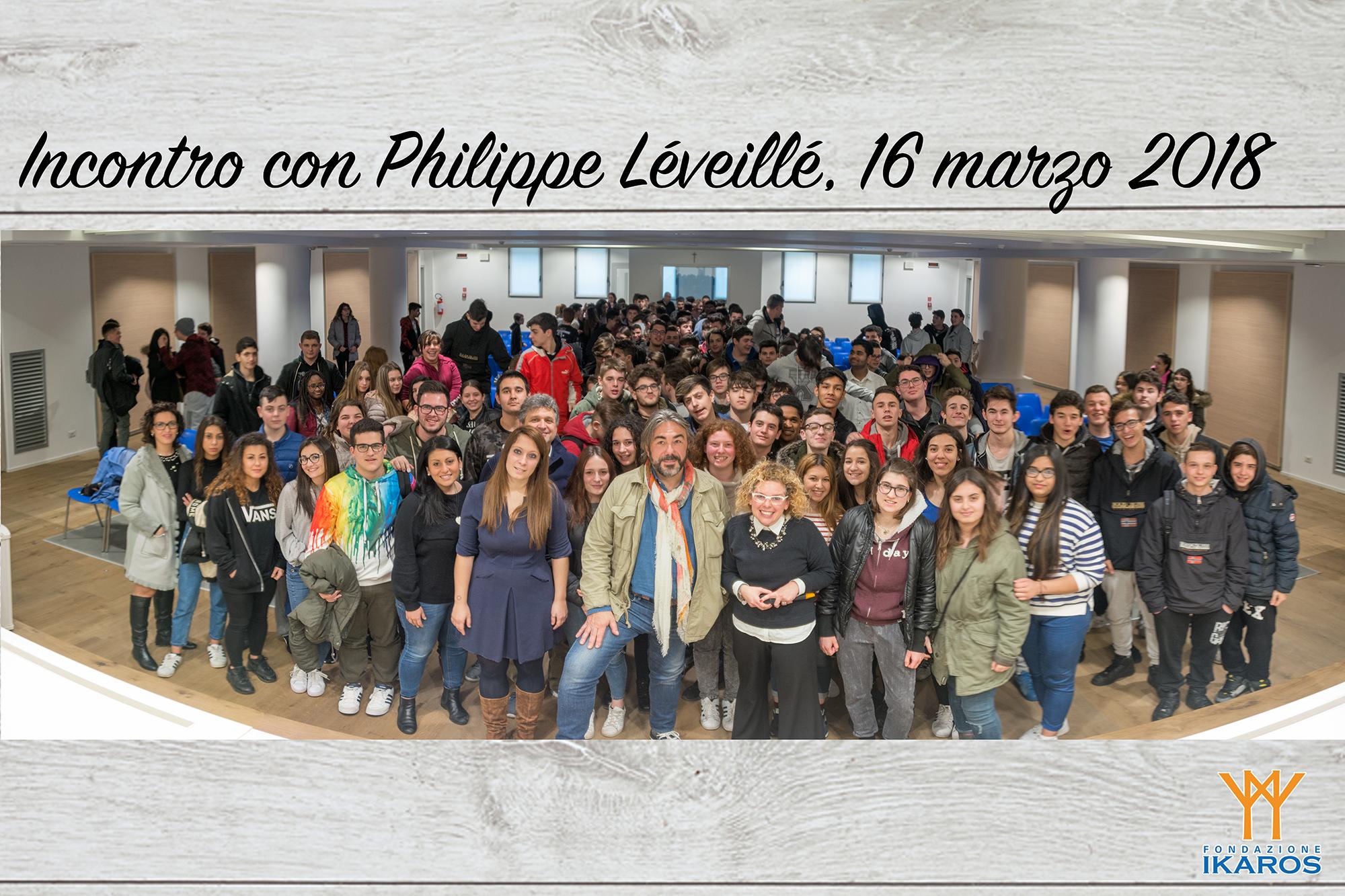 Incontro con Philippe Léveillé
