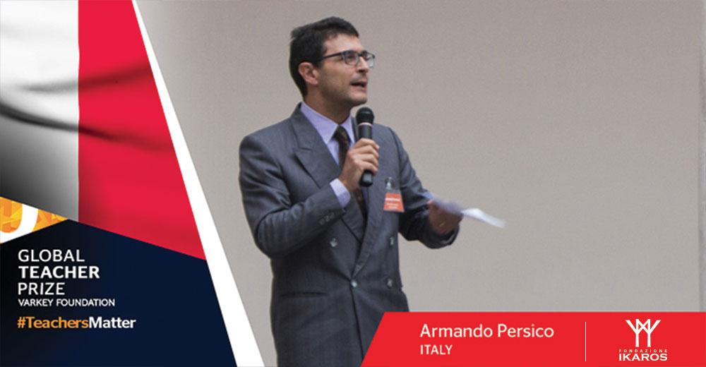 Professor Armando Persico, che collabora con Ikaros dal 2003, è stato scelto dalla Varkey Foundation tra i 50 migliori insegnanti al mondo.